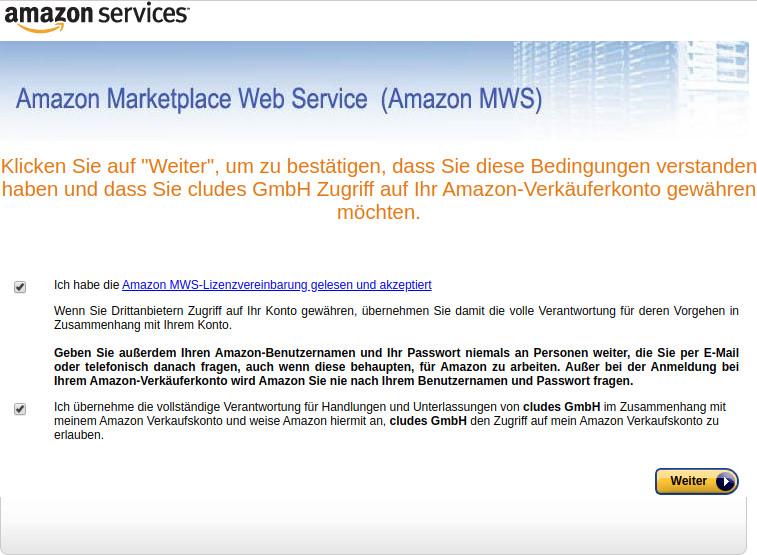 Mws Amazon Deutschland
